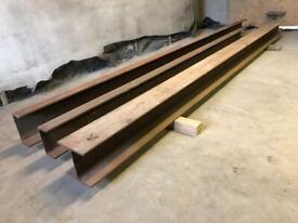 RSJ Steel Beam / Steel Channels