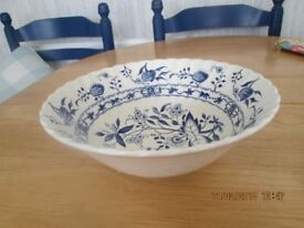 2 Johnsons Blue Lily bowls.