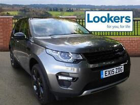 Land Rover Discovery Sport SD4 HSE (grey) 2015-03-31