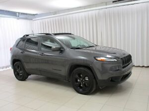 2017 Jeep Cherokee 4X4 SUV w/ HEATED / VENTILATED SEATS, REMOTE