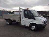 13 Ford Transit 350 MWB Alloy Drop Side Pick Up