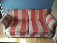 For sale 2x3 seater sofas