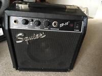Squier SP10 amp
