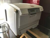Oki c5600 color laser printer