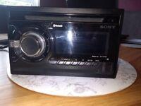 sony double din radio/cd player