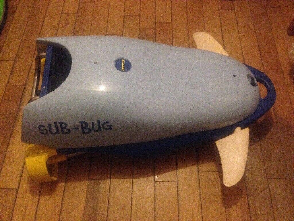Sub Bug underwater machine vintage