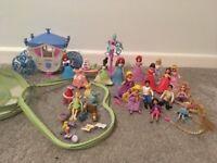 Disney princess mini figures