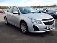 2013 Chevrolet cruse 1.7 diesel, motd sept 2018, full history only £30 a year tax