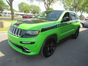 2016 Jeep Grand Cherokee SRT*WRAPPED IN GREEN WOW!