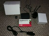 Raspberry Pi 3 Model B With Accessories