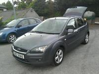 05 Ford Focus Zetec 5 door great driver ( can be viewed inside anytime)