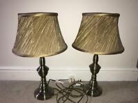Gold/Bronze Lamps