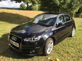 *BARGAIN! REDUCED! 2014 Audi A1 1.6 TDI S line Sportback 5dr - LOW MILEAGE! FREE ROAD TAX!
