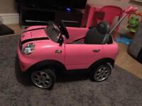 Mini Cooper Pink