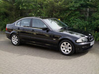 2001 BMW 325i Saloon E46 Black Leather