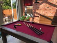 6' pool table