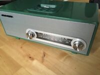 Crosley CR3001A Ranchero Audiophile AM/FM Receiver with an iPhone Dock