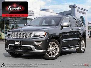 2014 Jeep Grand Cherokee Summit 5.7 HEMI LEATHER NAVIGATION BACK