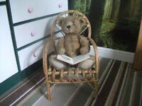 Cane Kids Chair
