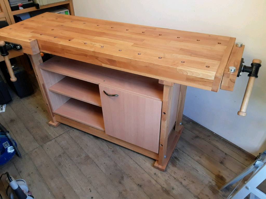 woodworking bench with storage | in tunbridge wells, kent | gumtree