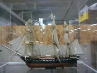 TWO LARGE MODEL TALL MAST SHIPS FOR SALE AT DAN'S TRAIN STATION!