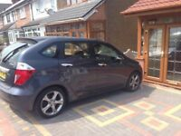 Honda Frv 1.7 v tec petrol grey