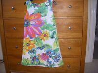 NEXT Sleeveless Dress Fully lined. Age 8yrs 128cm.