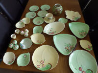 LOVELY COLLECTION OF CARLTON WARE CHINA