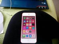 Pink 6 generation ipod touch