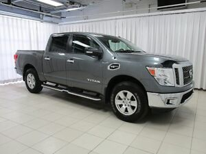 2017 Nissan Titan SV V8 ENDURANCE 4X4 6PASS LESS THAN 5K!!