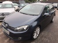2009/09 VOLKSWAGEN GOLF 2.0 TDI GT,5 DOOR,ONE OWNER,SERVICE HISTORY,LOOKS+DRIVES REALLY WELL