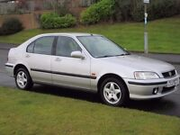 Best one in uk,2001 HONDA CIVIC 1.4i SPORT,60k miles*one owner from new*Full honda history