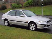 Best one in uk,2001 HONDA CIVIC 1.4i SPORT,60k miles*one owner from new*Full honda history