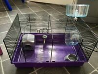 Small hamster wire cage in good condition
