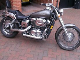 Fabulous 2007 Honda Shadow Spirit VT 750 DC