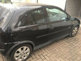 Vauxhall Corsa SXi+ 2006 Windows [Front & Back (tinted)] - Collection Only