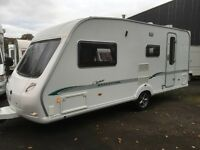 ☆ 07/08 BESSACARR CAMEO 525 SL 4 BERTH ☆ TOURING CARAVAN ☆IMMACULATE CONDITION ☆ ☆ FULLY SERVICED ☆
