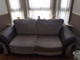 Large too seater sofa