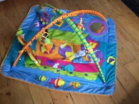 Tiny Love Gymini Kick and Play Baby Activity Mat *as good as new* with bag