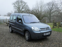 2007 Citroen Berlingo Multispace Desire 92, 1.6 HDI, Grey, 133,375 miles