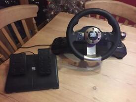 X-box 360 Steering Wheel