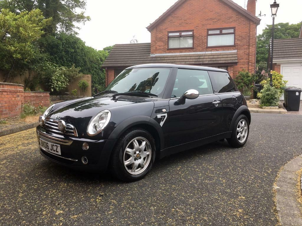 mini one black 2006 limited edition 7 in bootle merseyside gumtree. Black Bedroom Furniture Sets. Home Design Ideas