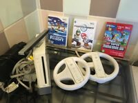 Nintendo Wii...X 3 Games....Quick Sell...£
