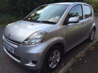 2008, Daihatsu Sirion, 1.0.SE 5 Doors, 47.100 miles, £30 Road Tax