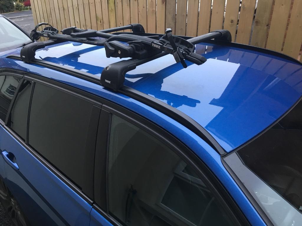 Thule Roof Rack  Bike Bmw Touring F