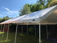 White Marquee: Gala Tents 4m x 10m