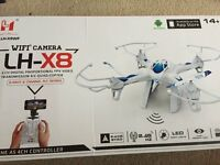 Drone, with camera Comes Remote control, with box.