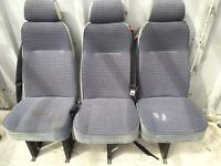**BARGAIN** Universal Adjustable Toyota Hi-ace Seats In Good Condition