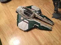 Various Star Wars ships