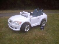 BMW style Children's Ride On Car with Parent Remote Control - 2 seater
